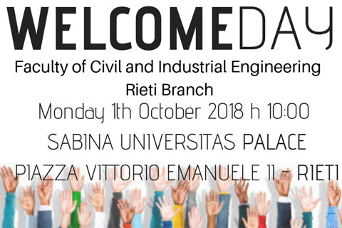 Sustainable Building Engineering | Welcome Day
