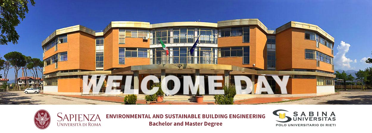 Environmental and Sustainable Building Engineering | Welcome Day: 23rd September 2020 h. 10.00